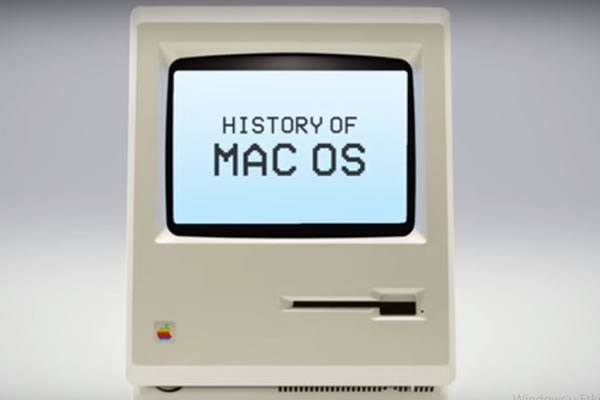 Apple Sistem MAC OS Tarihçesi